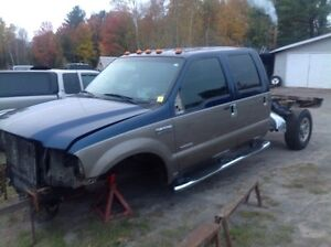 PARTING OUT 2006 FORD F350 SUPERDUTY 6.0 DEISEL