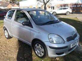 2004 TOYOTA YARIS 1.3 VVT I T3 3DR 3 DOOR HATCHBACK