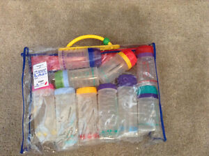 Large Lot Playtex Baby Bottles