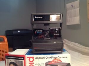 Polaroid one step instant camera tested