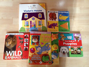 """Baby-toddler books and dvd""""s"""