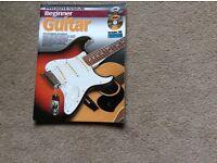 Guitar book and guitar stand