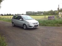 24/7 Trade sales NI Trade prices for the public 2009 Vauxhall Zafira 1.6 Exclusive Silver 7 Seater