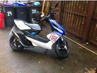 Yamaha aerox 100/125