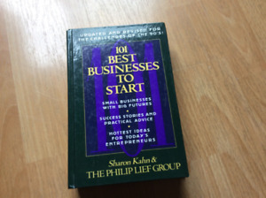 101 BUSINESS TO START - HARD COVER BOOK