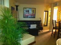 KENSINGTON - Fully Furnished 2 Bdrm Cozy Bsmt Suite Oct 1
