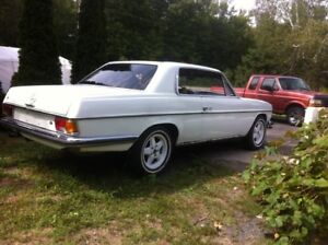 1969 Mercedes 250CE coupe price lowered from $6K.