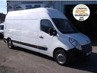 2011 11 RENAULT MASTER 2.3 LH35 DCI LWB EXTRA HIGH ROOF VAN CHOICE OF MASTER'S
