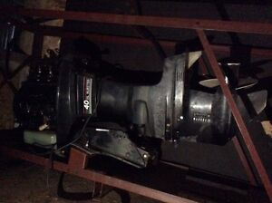 40 hp oil injected motor