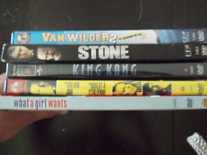DVD's For Sale $1 EACH