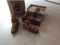 New timberlands boots size 9