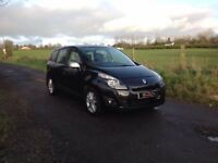 24/7 Trade sales NI Trade Prices for the public 2010 Renault Grand Scenic 1.5 DCI 7 Seater Black