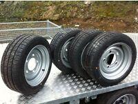 Ifor Williams Nugent dale Kane flatbed trailer wheels