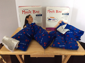 Magic Bag Heat/Cold Therapy, two pack