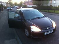 HONDA CIVIC 1.6i VITEC SE 5 doors 2 lady owners only