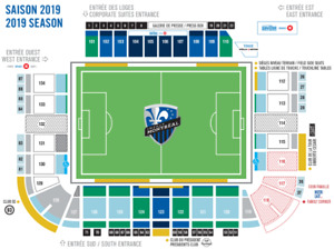 Montreal impact vs New york red bull -2 billets tickets