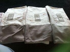 4 cushion cover cream and coffee shades