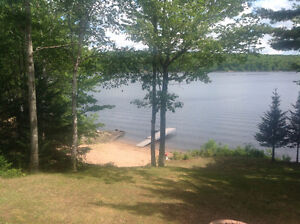 Cottage for Rent on Waterfront with Private Beach