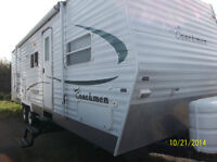 2006 Coachman Cascade, 28 Ft, 1 Slide, Bunks, $12,900