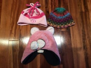Girls winter hats 2 years and up
