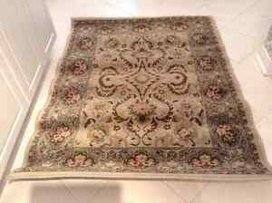 Accent area rug 4x5 with tags