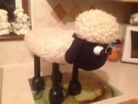 Shaun the sheep foot stool