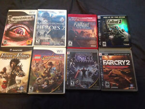 PS3 / Wii games / Gamecube / DS