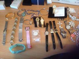 Brand New Ladies Jewellery( 10 Bracelets,Necklaces,Earings,etc(£75)