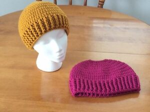 Ladies Winter Hat or Messy Bun / Ponytail Hat.  Made-to-Order