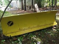 8ft HD fisher plow for sale