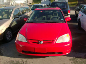 2003 HONDA CIVIC SI 5SPD LOADED INCL PR SUNROOFONLY $3984