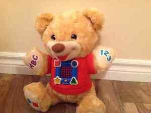 Fisher price learn and sing teddy bear