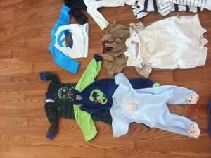 0-6 month baby boy clothing - only brand names