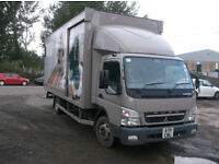Mitsubishi Canter FUSO 4X2 BOX VAN - 7.5T GROSS- MANUAL GEARBOX