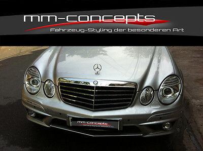 Mercedes W211 E Klasse Stoßstange vorne Frontschürze E63 AMG Bumper Schürze ABS