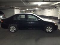 Black Honda Civic 2002