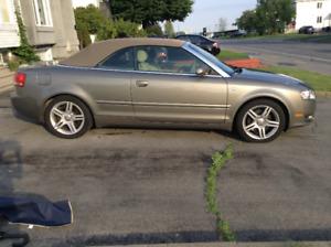 IMPECCABLE Audi A4 Cabriolet 2007 à vendre