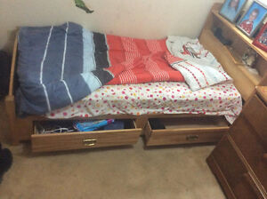 Ikea Single Bed For Sale!! Must Go! Perfect for young kids!!
