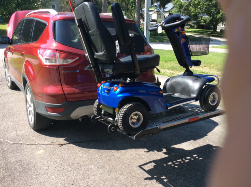 Scooter Lift For Back Of Car Health Amp Special Needs