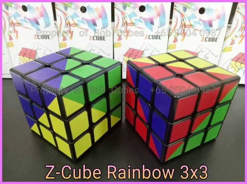 - - Z-Cube Rainbow 3x3 for sale in Singapore