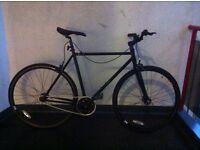 Feral Fixed Gear Bike - Black