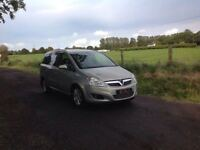 24/7 Trade sales NI Trade prices for the public 2008 Vauxhall Zafira 1.9 CDTI Design 7 seater