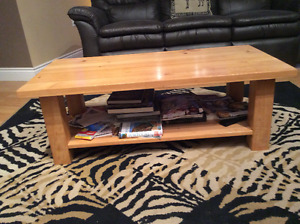 Solid pine coffe table