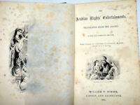 Antique Book (1878) : 'Arabian Nights', circa 100 illustrations, some pitting. '140yr old book'. £75