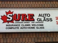 Sure glass - automotive, commercial, residential