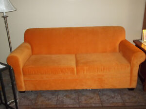 STUDENT/MEN CAVE/CONDO OWNER ECT.. 1 YR OLD SOFA BED FOR SALE