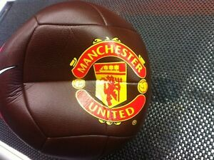 Manchester United.    Soccer ball.     Sold ////sold