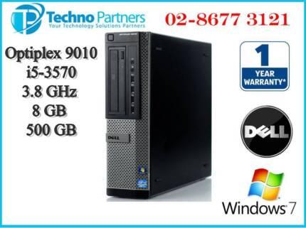 Dell Optiplex 9010 SFF Computer 3rd i5 3570 3.8G 8G 500G Win 7Pro