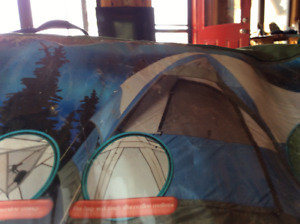 Woods 12x 10 family Hex Dome Tent