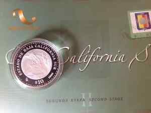 2007 baja california sur proof 1 oz silver/Argent With card